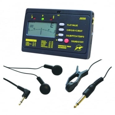 Electronic Tuner & Metronome inc Headphones and Microphone