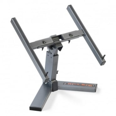 Fully Adjustable DJ Laptop / Control Station Stand Anti Slip and Anti Scratch
