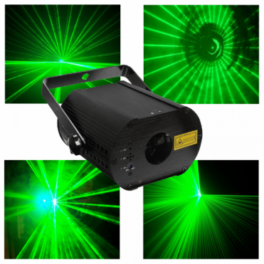 GREEN100 Laser Vert AFX 100mw Green Laser Stage Disco DMX Lighting Effect