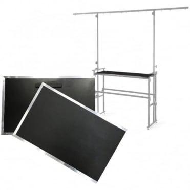 Heavy Duty Deck Shelfs for 4ft DJ Stand DJ-4 DJ-4T Fits Most Stands
