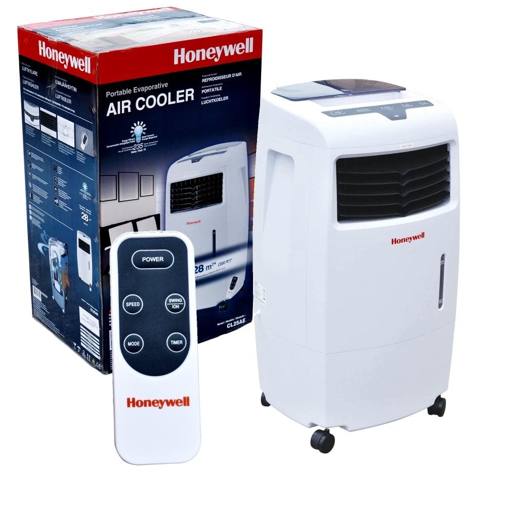 honeywell 3 speed remote control evaporative air cooler. Black Bedroom Furniture Sets. Home Design Ideas