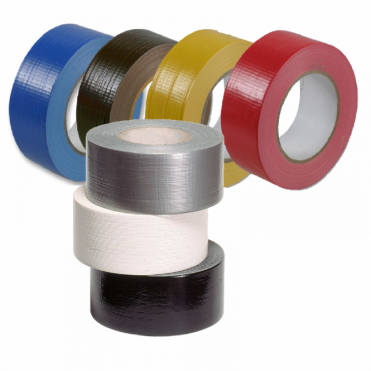 HQ Duck Tape Water Resistant Gaffa Coloured Rolls 48mm x 50M