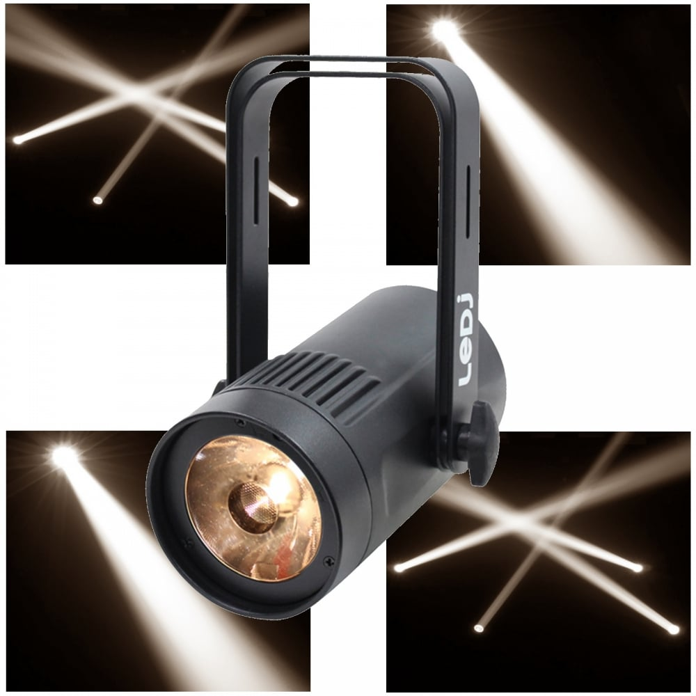 Led Pinspot Par36 Warm White Beam 15w Mirror Ball Pin Spot 10 176