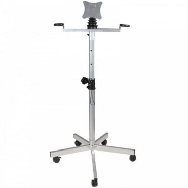Mobile Universal LCD Flat Screen Bracket - Adjustable Floor Standing