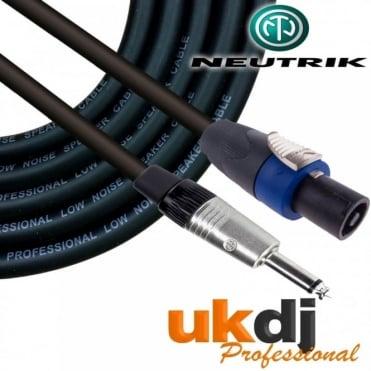"Neutrik SpeakON® - 1/4"" Jack 6.35mm To Speakon Passive Speaker Cable PA OFC"