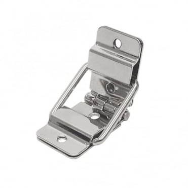 Nickel Small Heavy Duty Metal Strut Hinge for 95 Degree Chest Case Lid Opening