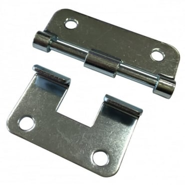 Nickle Heavy Duty Metal Lift-Off Hinge For Removable Chest Flight Case Lids