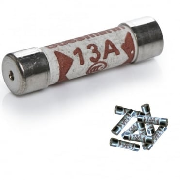 Pack of 10 13amp Fuses For Mains Plug Top 13A Cartridge