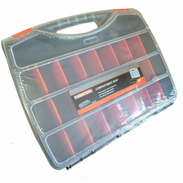 Polyporpylene Parts Box Organiser 24 Compartments, Adjustable Sizes