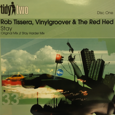 Rob Tissera - Vinylgroover & The Red Hed - Stay Original Mix Vinyl Record