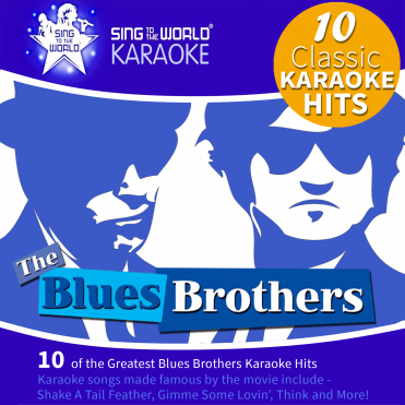The Blues Brothers Karaoke CD+G, 10 Classic Movie Tracks in CDG Format