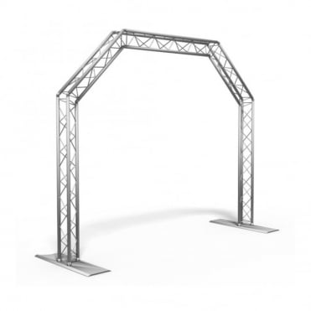 Trusst QT-Arch / Light Gate Triangular Truss Arch Kit 3.3 x 2.3M Rig