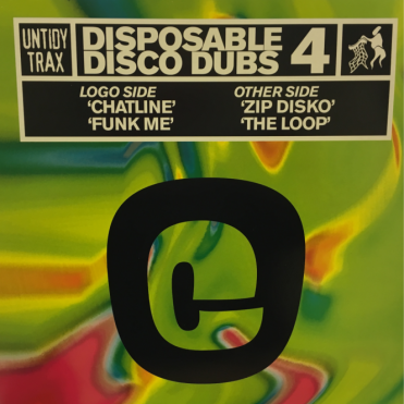 Untidy Trax Disposable Disco Dub 4 Vinyl Record