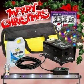 UV Strobe Lighting Smoke Fog Effect Machine DJ Party Xmas PK7 + Props