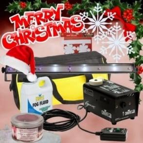 UV Strobe Lighting Smoke Mist Fog Effect Machine DJ Party PK8X + Props